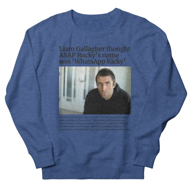 Liam Gallagher Men's French Terry Sweatshirt by tulleceria