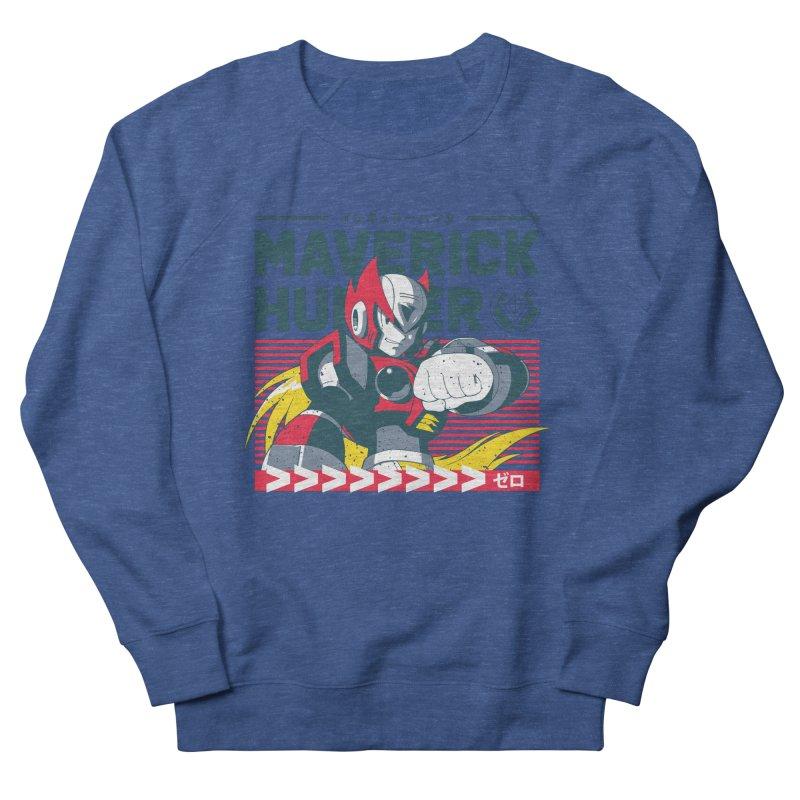 Mega Man X Zero Men's Sweatshirt by tulleceria