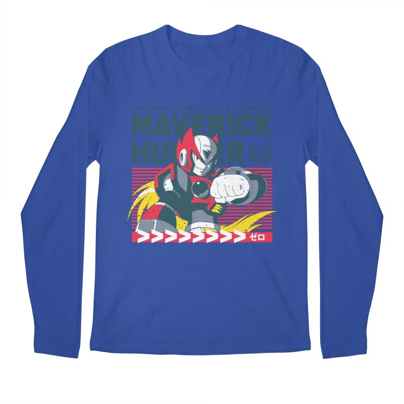 Mega Man X Zero Men's Regular Longsleeve T-Shirt by tulleceria