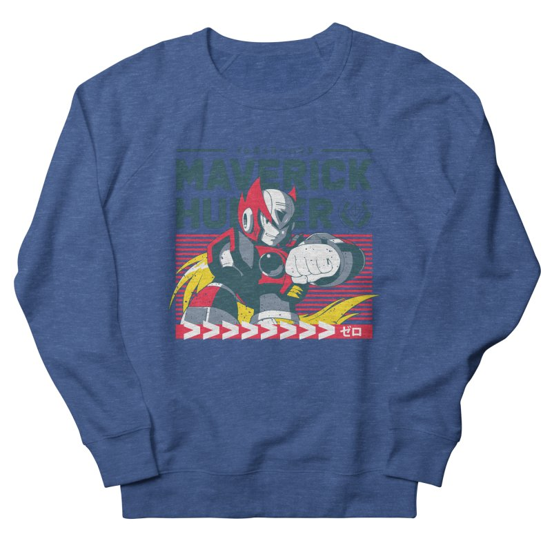 Mega Man X Zero Men's Sweatshirt by tulleceria