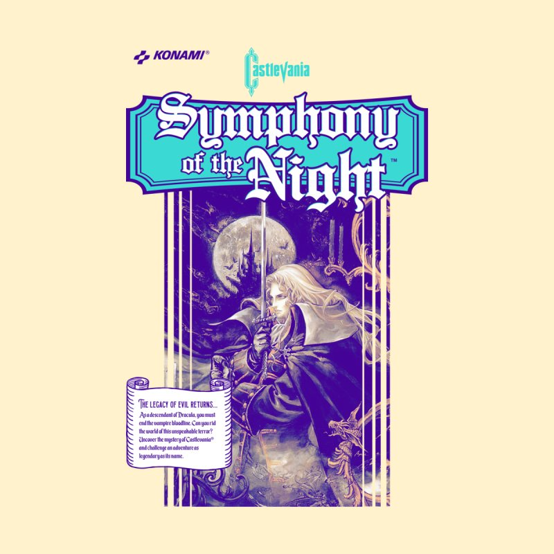Castlevania: Symphony of the Night by tulleceria