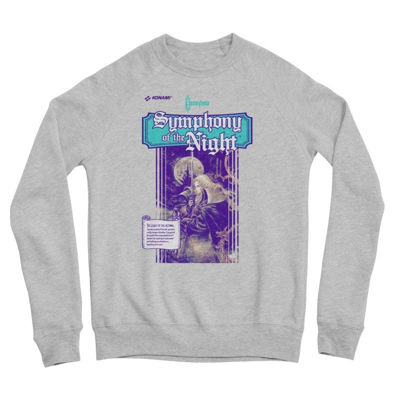 Castlevania: Symphony of the Night Women's Sponge Fleece Sweatshirt by tulleceria