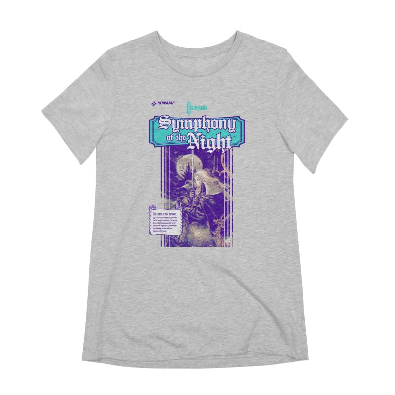 Castlevania: Symphony of the Night Women's Extra Soft T-Shirt by tulleceria