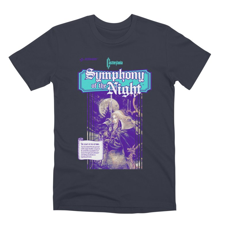 Castlevania: Symphony of the Night Men's Premium T-Shirt by tulleceria