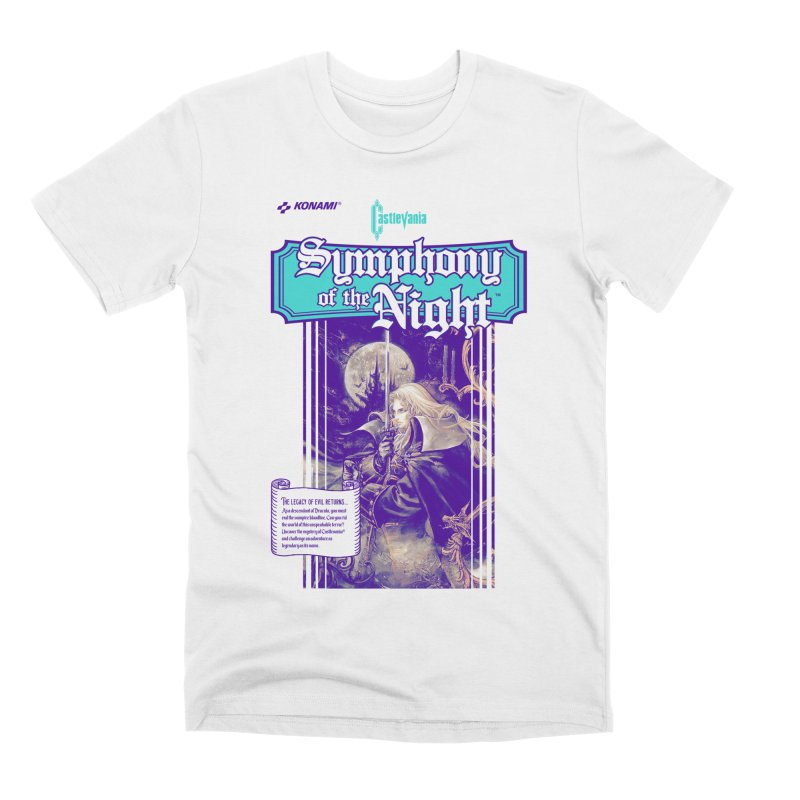 Castlevania: Symphony of the Night Men's T-Shirt by tulleceria