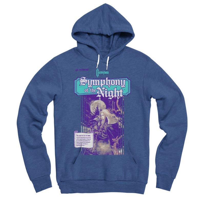 Castlevania: Symphony of the Night Men's Sponge Fleece Pullover Hoody by tulleceria