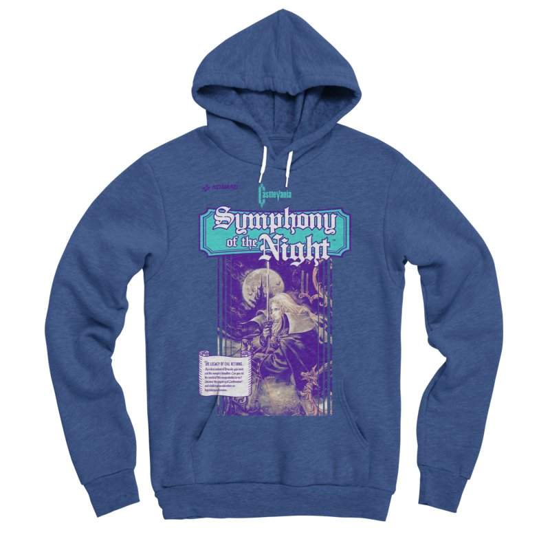 Castlevania: Symphony of the Night Women's Sponge Fleece Pullover Hoody by tulleceria