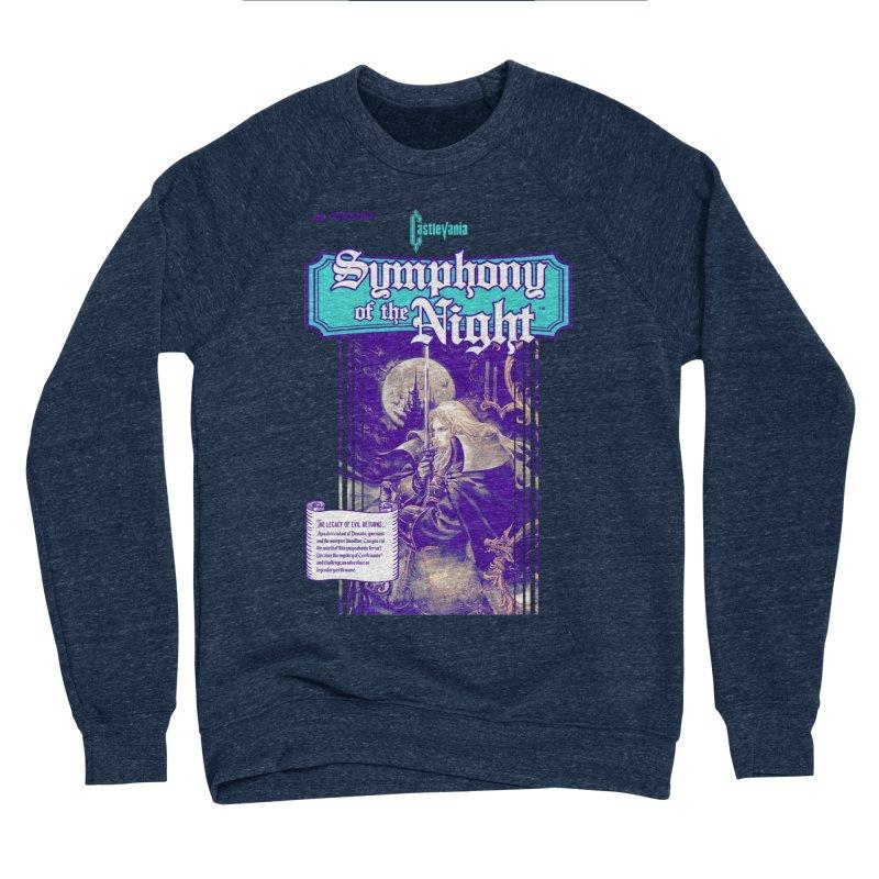 Castlevania: Symphony of the Night Men's Sponge Fleece Sweatshirt by tulleceria