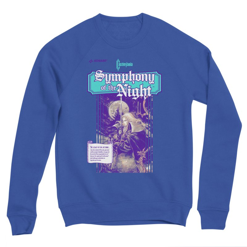 Castlevania: Symphony of the Night Men's Sponge Fleece Sweatshirt by tulleceria