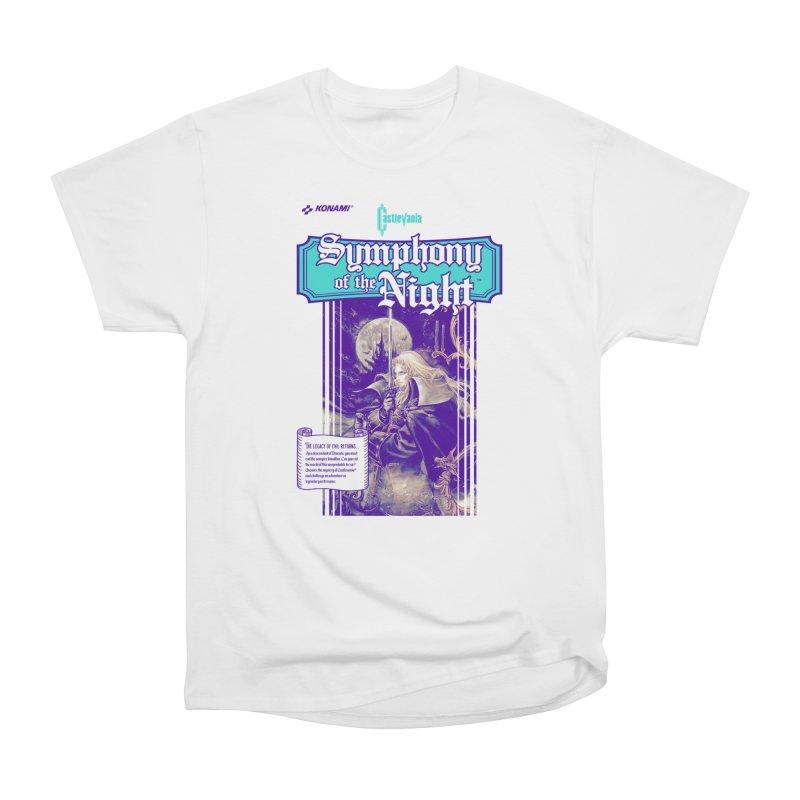 Castlevania: Symphony of the Night Men's Heavyweight T-Shirt by tulleceria