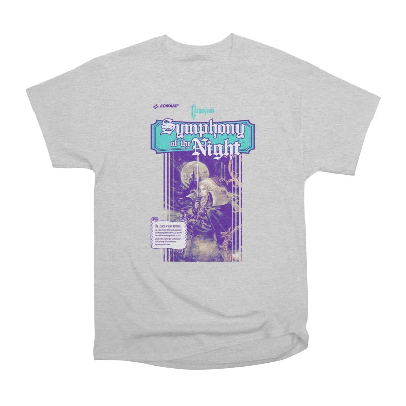 Castlevania: Symphony of the Night Women's Heavyweight Unisex T-Shirt by tulleceria