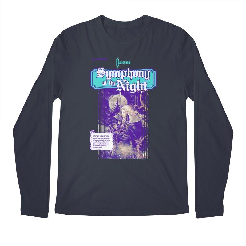 Castlevania: Symphony of the Night Men's Regular Longsleeve T-Shirt by tulleceria
