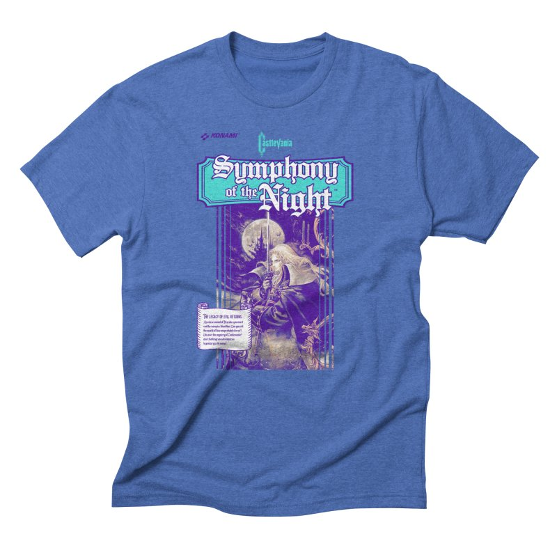 Castlevania: Symphony of the Night Men's Triblend T-Shirt by tulleceria