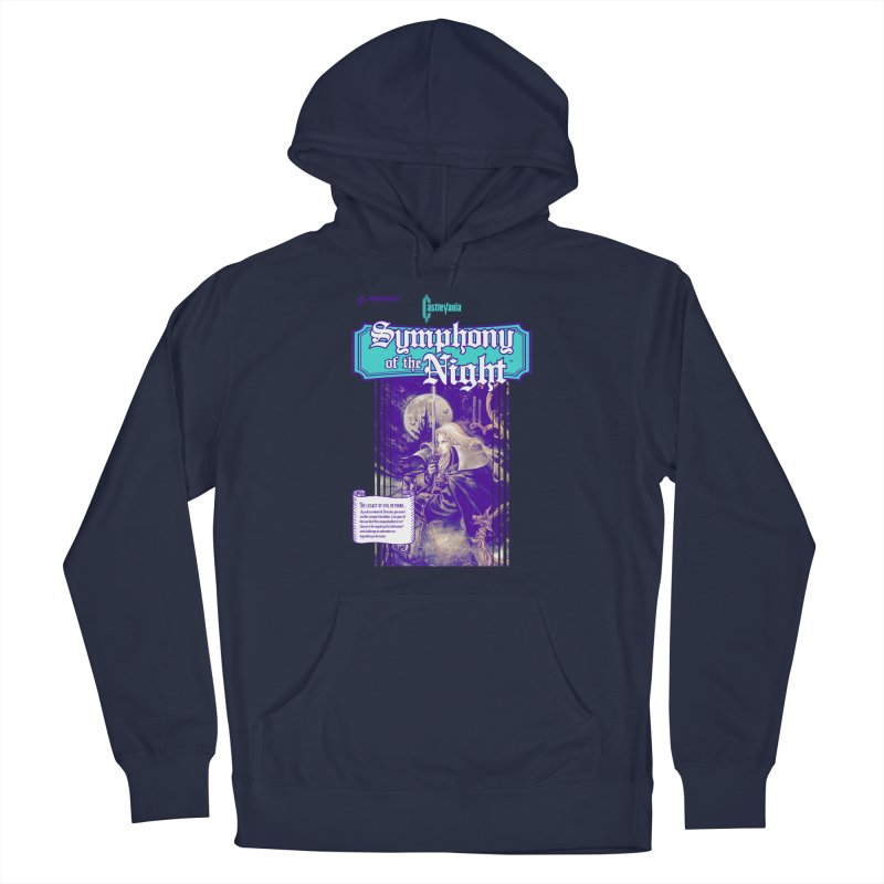 Castlevania: Symphony of the Night Men's Pullover Hoody by tulleceria