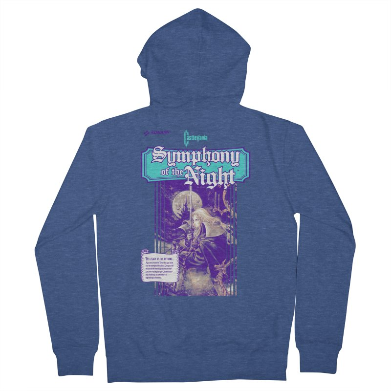Castlevania: Symphony of the Night Women's French Terry Zip-Up Hoody by tulleceria