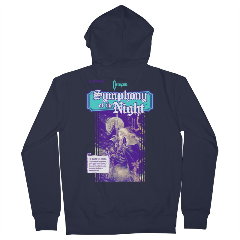 Castlevania: Symphony of the Night Men's French Terry Zip-Up Hoody by tulleceria