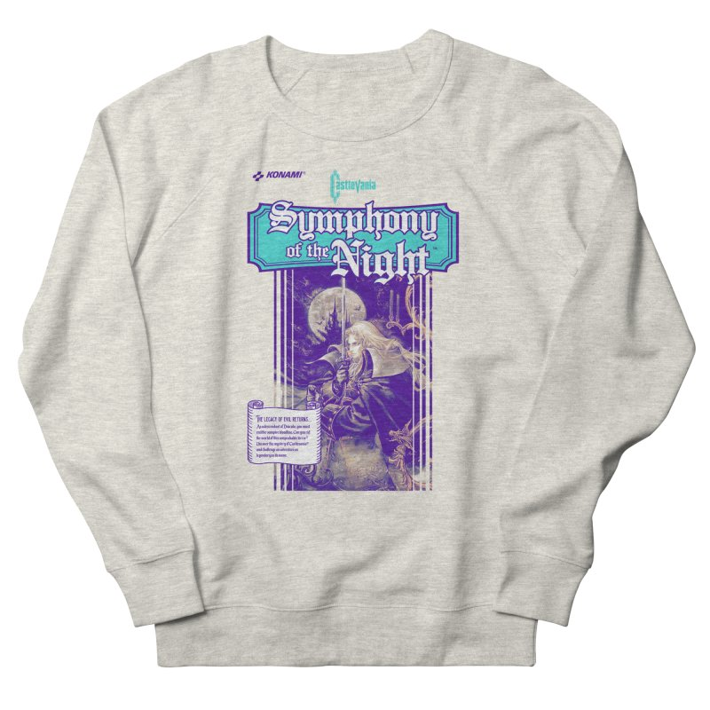 Castlevania: Symphony of the Night Women's French Terry Sweatshirt by tulleceria