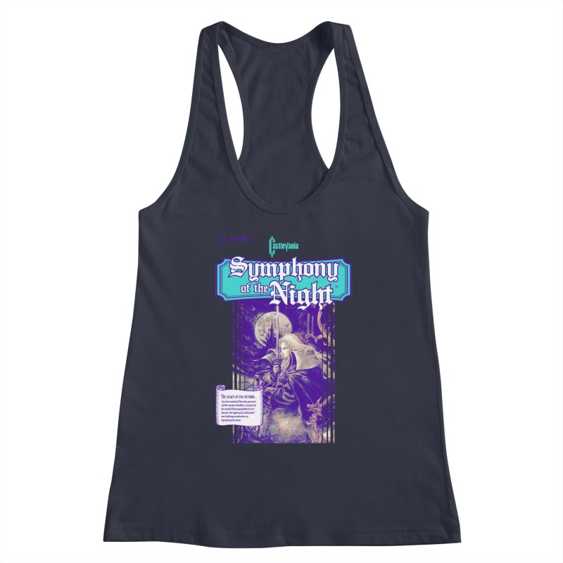 Castlevania: Symphony of the Night Women's Tank by tulleceria