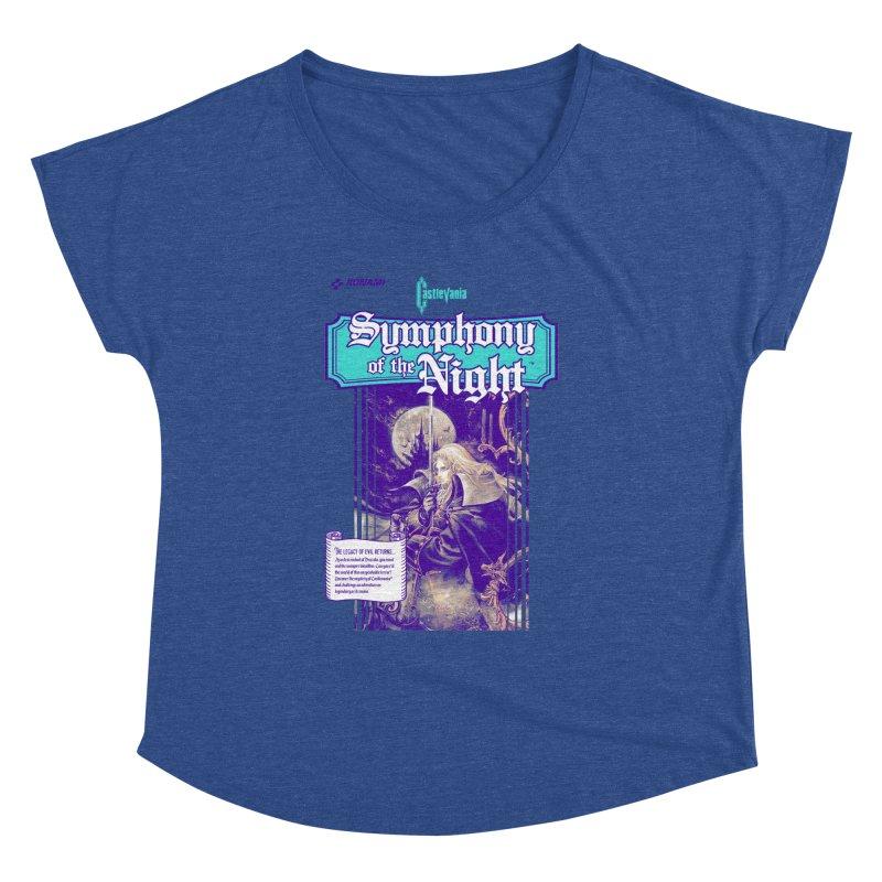 Castlevania: Symphony of the Night Women's Dolman Scoop Neck by tulleceria