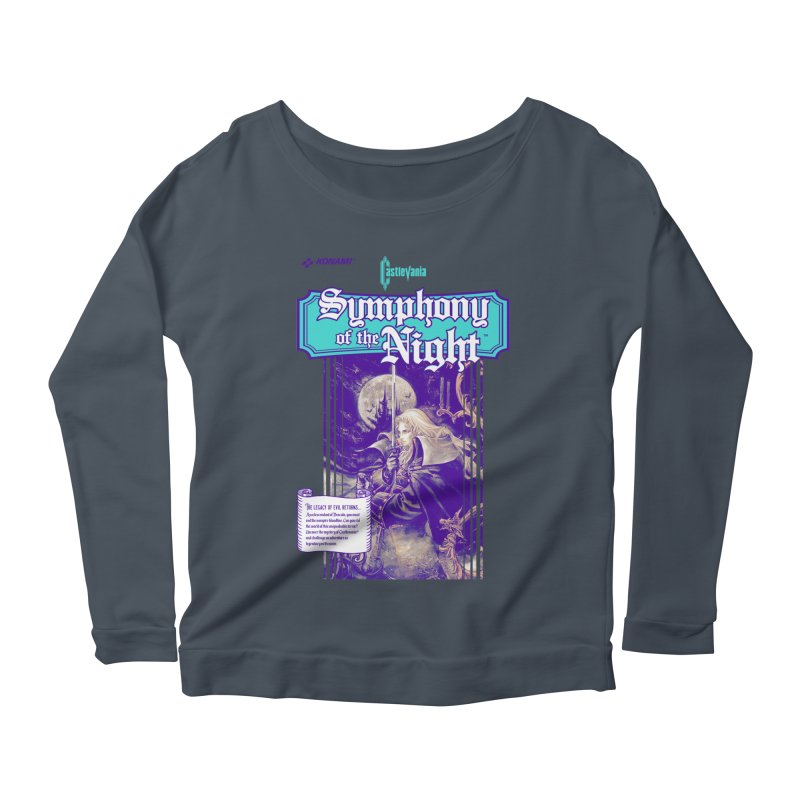 Castlevania: Symphony of the Night Women's Scoop Neck Longsleeve T-Shirt by tulleceria