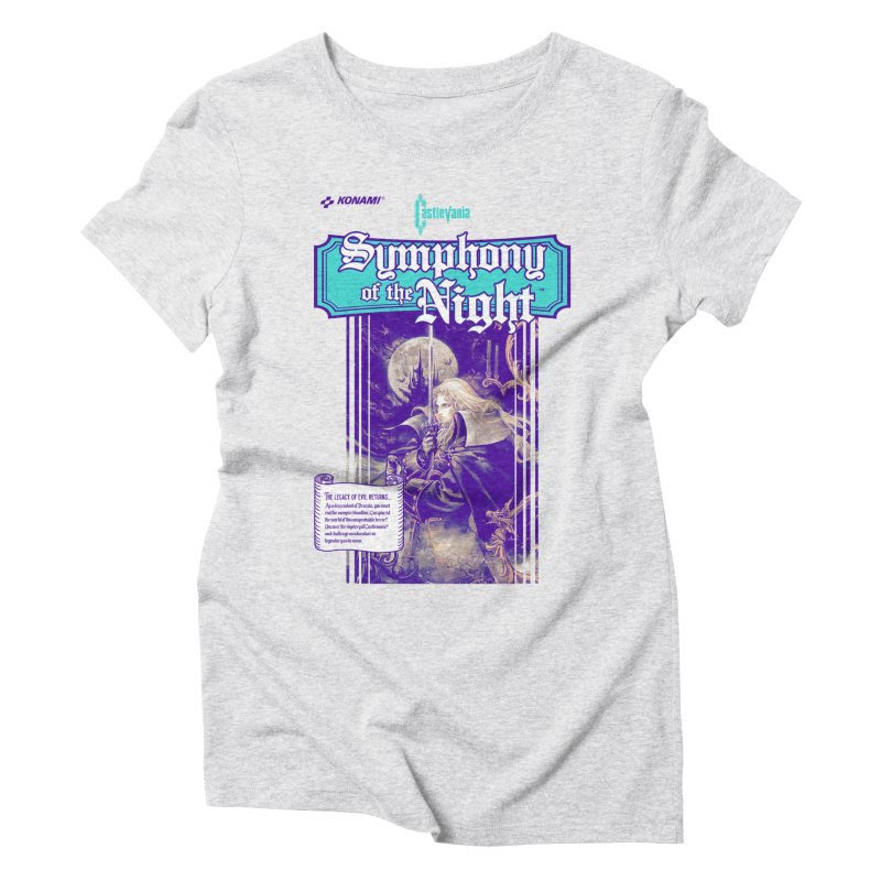Castlevania: Symphony of the Night Women's Triblend T-Shirt by tulleceria