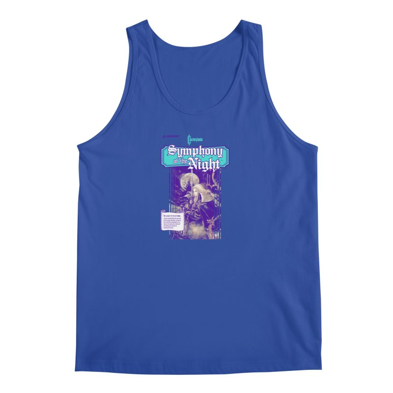 Castlevania: Symphony of the Night Men's Regular Tank by tulleceria