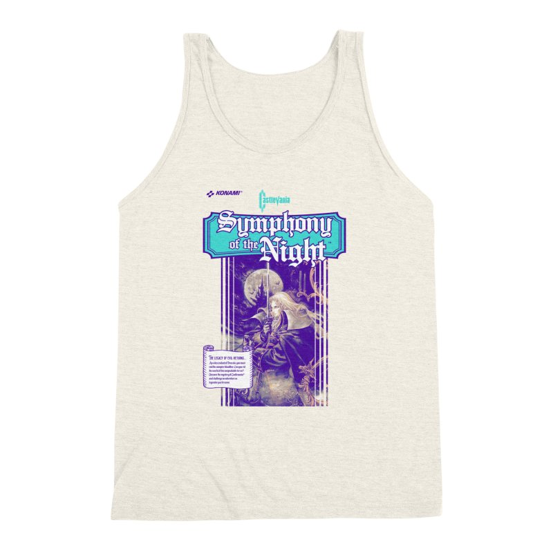 Castlevania: Symphony of the Night Men's Triblend Tank by tulleceria