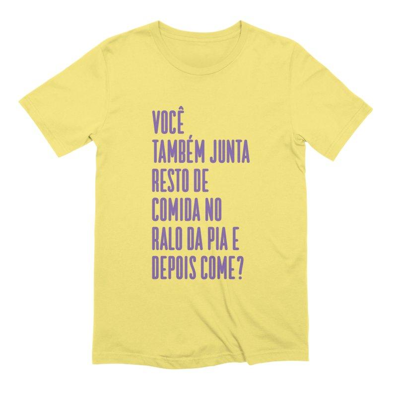 Ralo da Pia Men's Extra Soft T-Shirt by tulleceria