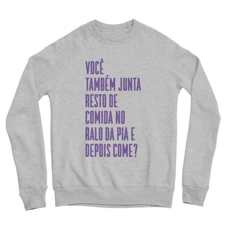 Ralo da Pia Men's Sponge Fleece Sweatshirt by tulleceria