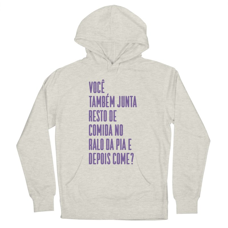Ralo da Pia Women's French Terry Pullover Hoody by tulleceria