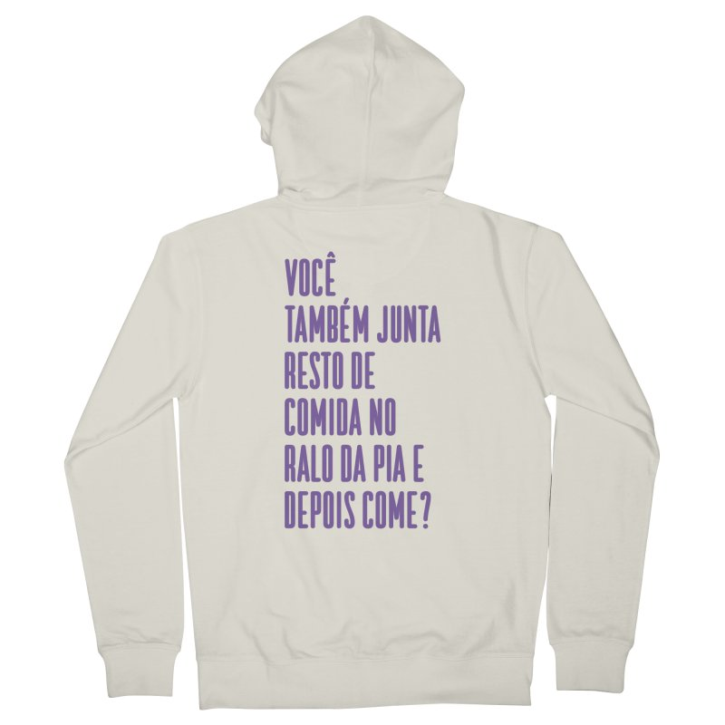 Ralo da Pia Women's French Terry Zip-Up Hoody by tulleceria