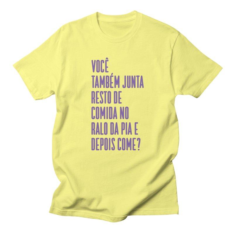 Ralo da Pia Men's Regular T-Shirt by tulleceria