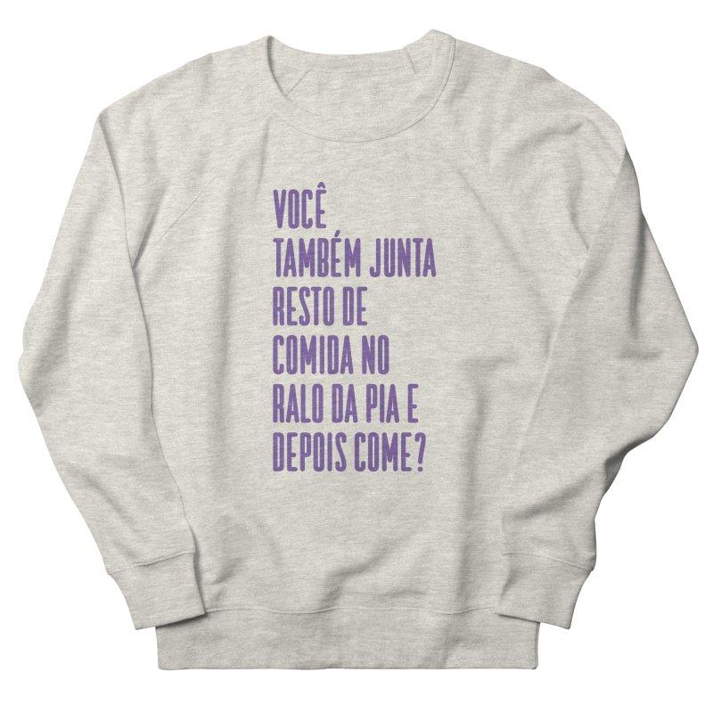 Ralo da Pia Men's French Terry Sweatshirt by tulleceria