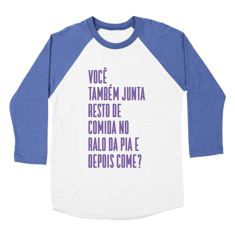Ralo da Pia Women's Baseball Triblend Longsleeve T-Shirt by tulleceria