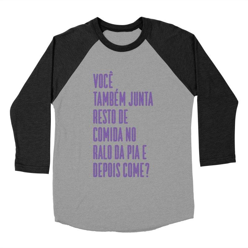 Ralo da Pia Men's Baseball Triblend Longsleeve T-Shirt by tulleceria
