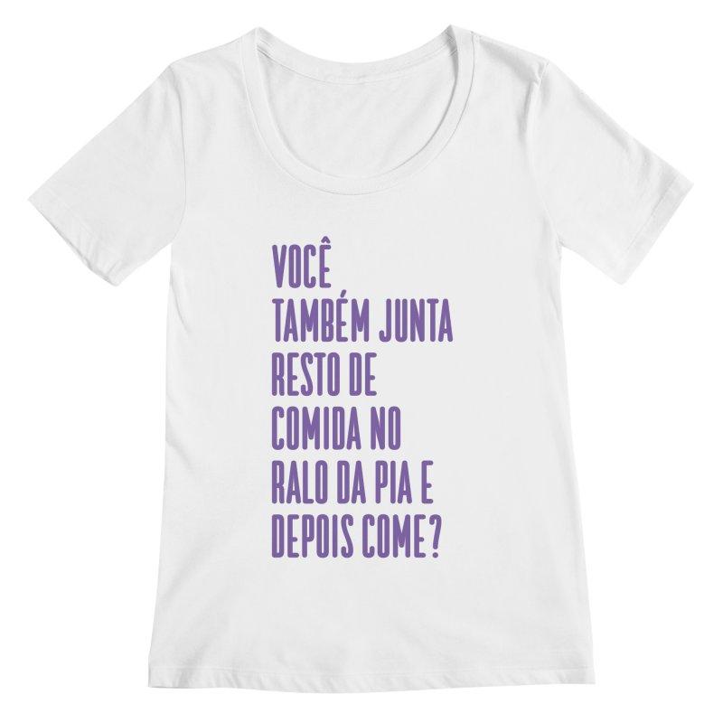 Ralo da Pia Women's Regular Scoop Neck by tulleceria