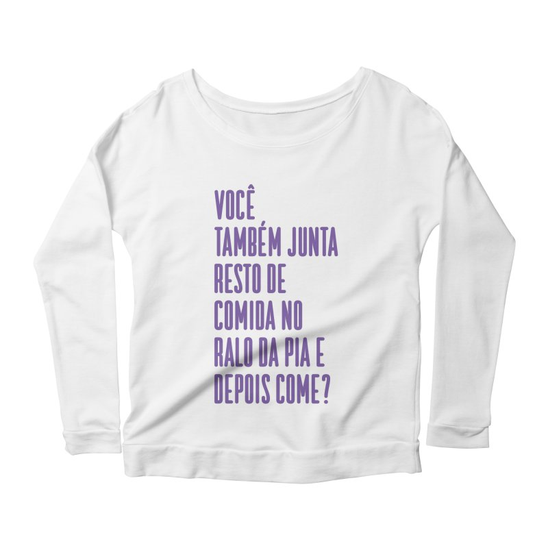 Ralo da Pia Women's Scoop Neck Longsleeve T-Shirt by tulleceria