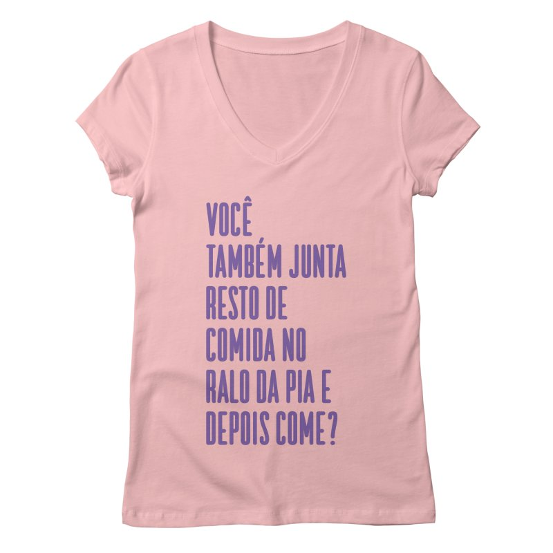 Ralo da Pia Women's Regular V-Neck by tulleceria