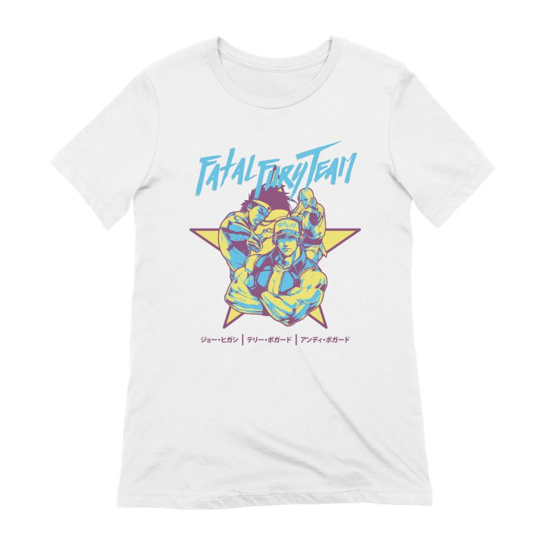 King Of Fighters '94 Italy Team Women's Extra Soft T-Shirt by tulleceria