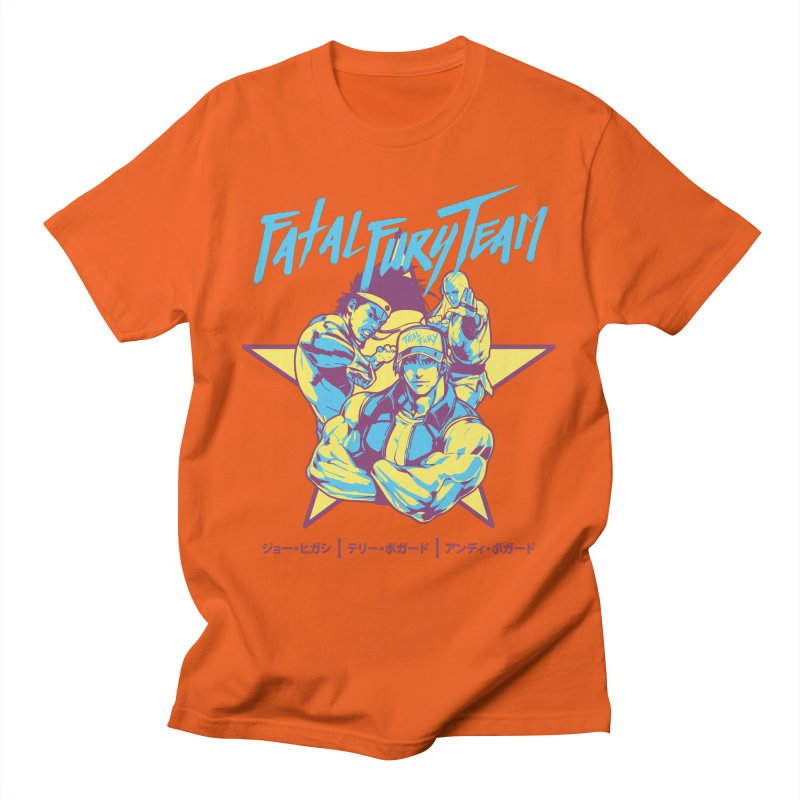 King Of Fighters '94 Italy Team Men's T-Shirt by tulleceria
