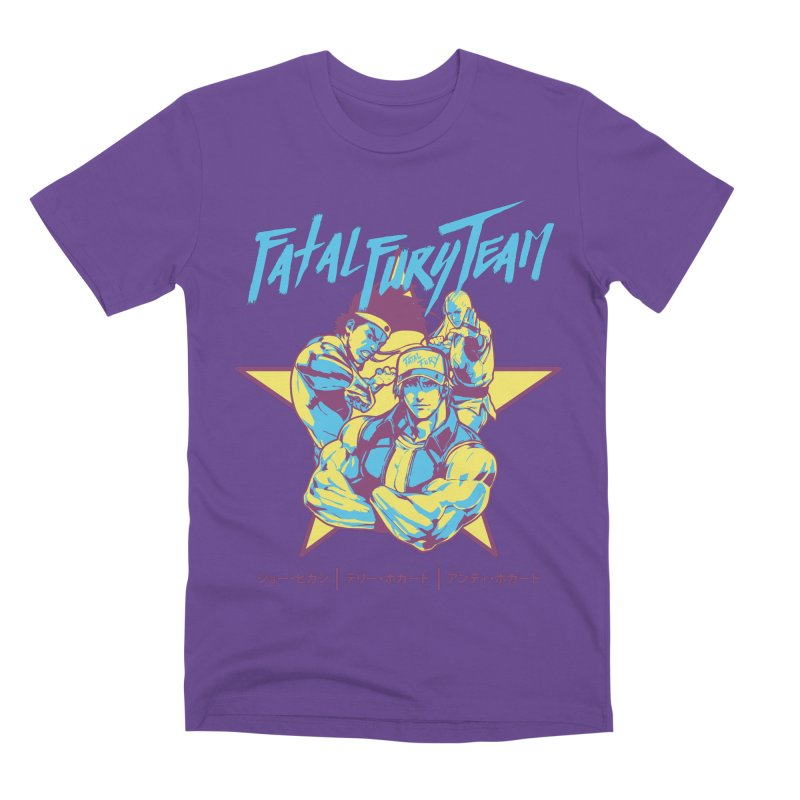 King Of Fighters '94 Italy Team Men's Premium T-Shirt by tulleceria