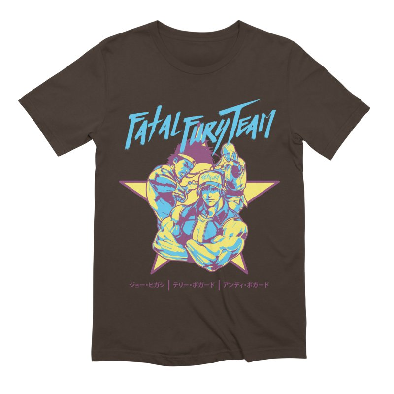 King Of Fighters '94 Italy Team Men's Extra Soft T-Shirt by tulleceria