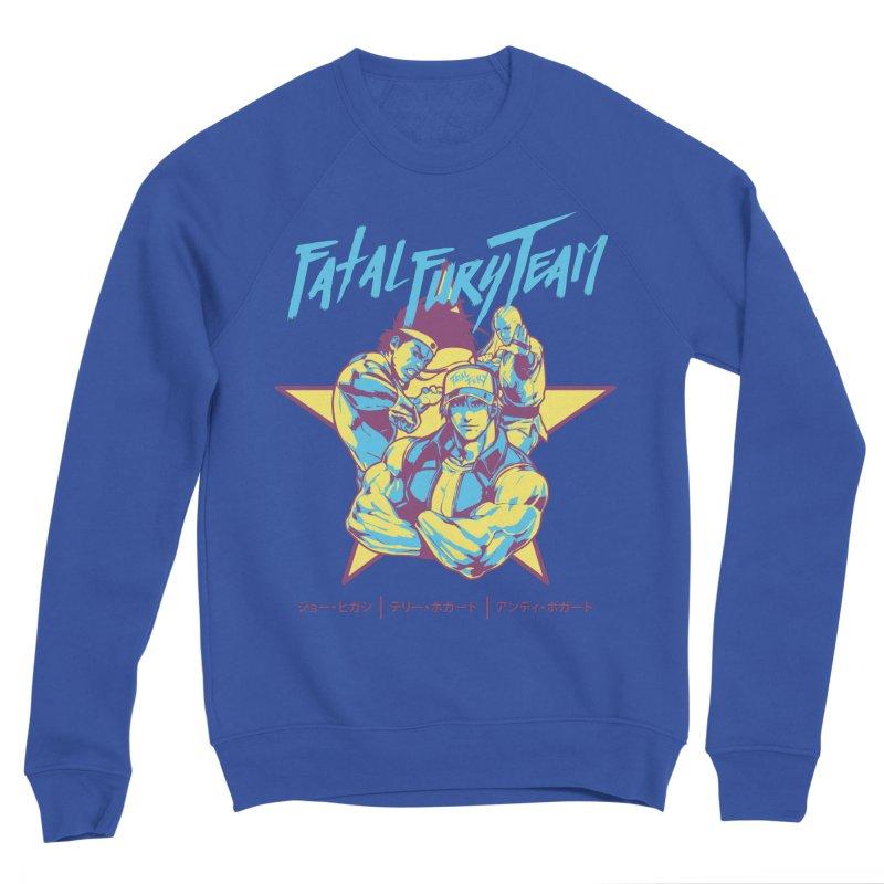 King Of Fighters '94 Italy Team Men's Sponge Fleece Sweatshirt by tulleceria