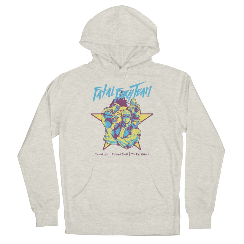 King Of Fighters '94 Italy Team Women's Pullover Hoody by tulleceria