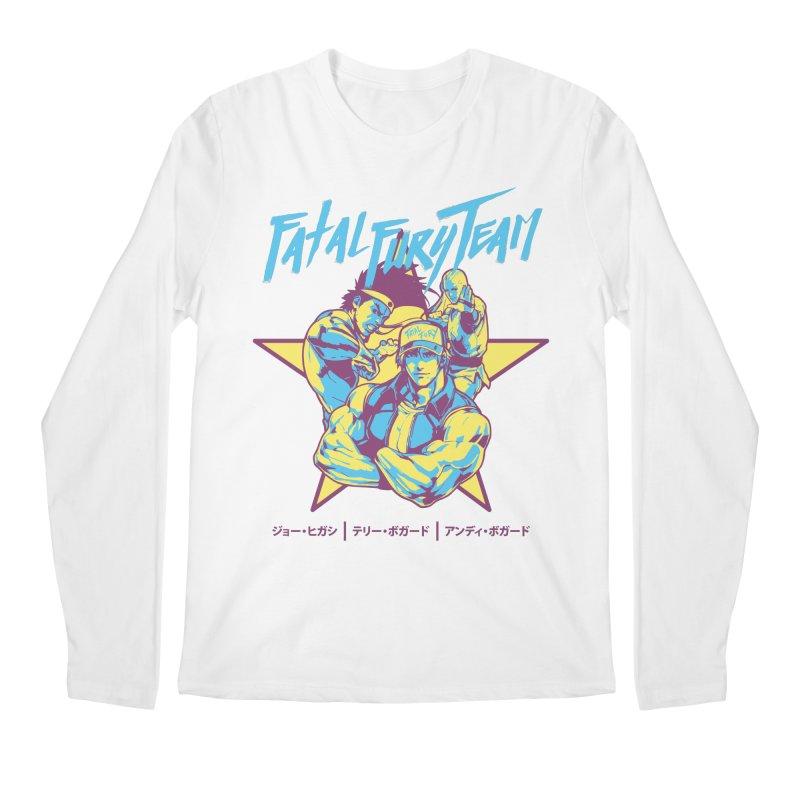 King Of Fighters '94 Italy Team Men's Regular Longsleeve T-Shirt by tulleceria