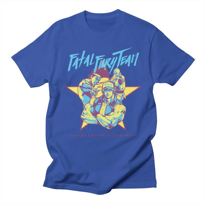 King Of Fighters '94 Italy Team Men's Regular T-Shirt by tulleceria