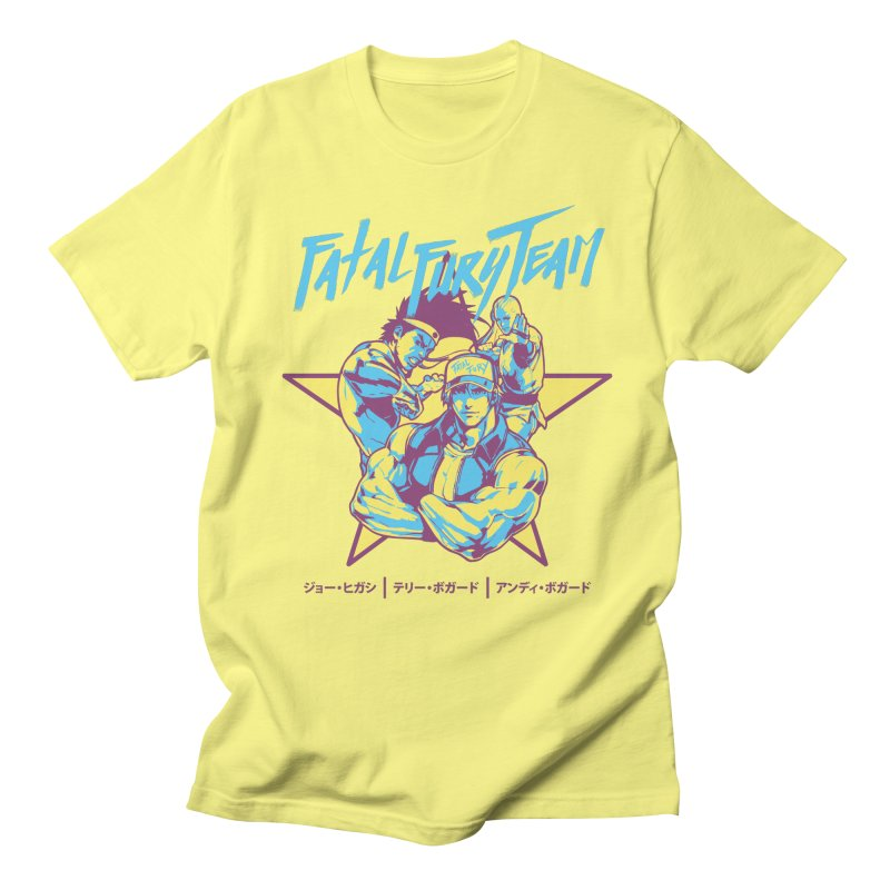 King Of Fighters '94 Italy Team Women's Regular Unisex T-Shirt by tulleceria