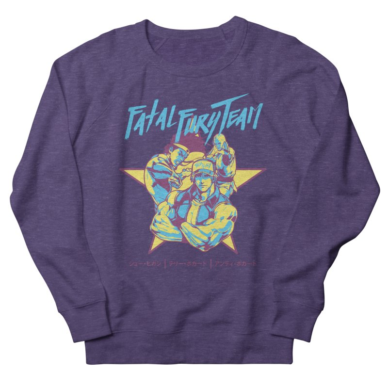 King Of Fighters '94 Italy Team Women's French Terry Sweatshirt by tulleceria