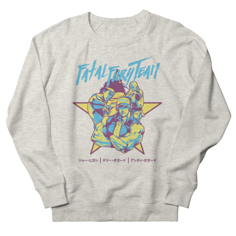King Of Fighters '94 Italy Team Men's French Terry Sweatshirt by tulleceria