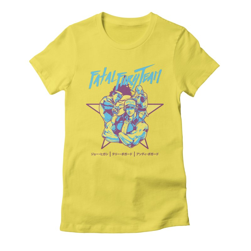 King Of Fighters '94 Italy Team Women's T-Shirt by tulleceria